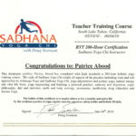 patrice abood sadhana yoga certification